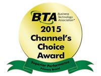 Sharp Receives 2015 Business Technology Channel's Choice Award for Primary Vendor