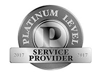 Platinum Level Service Provider for 2017